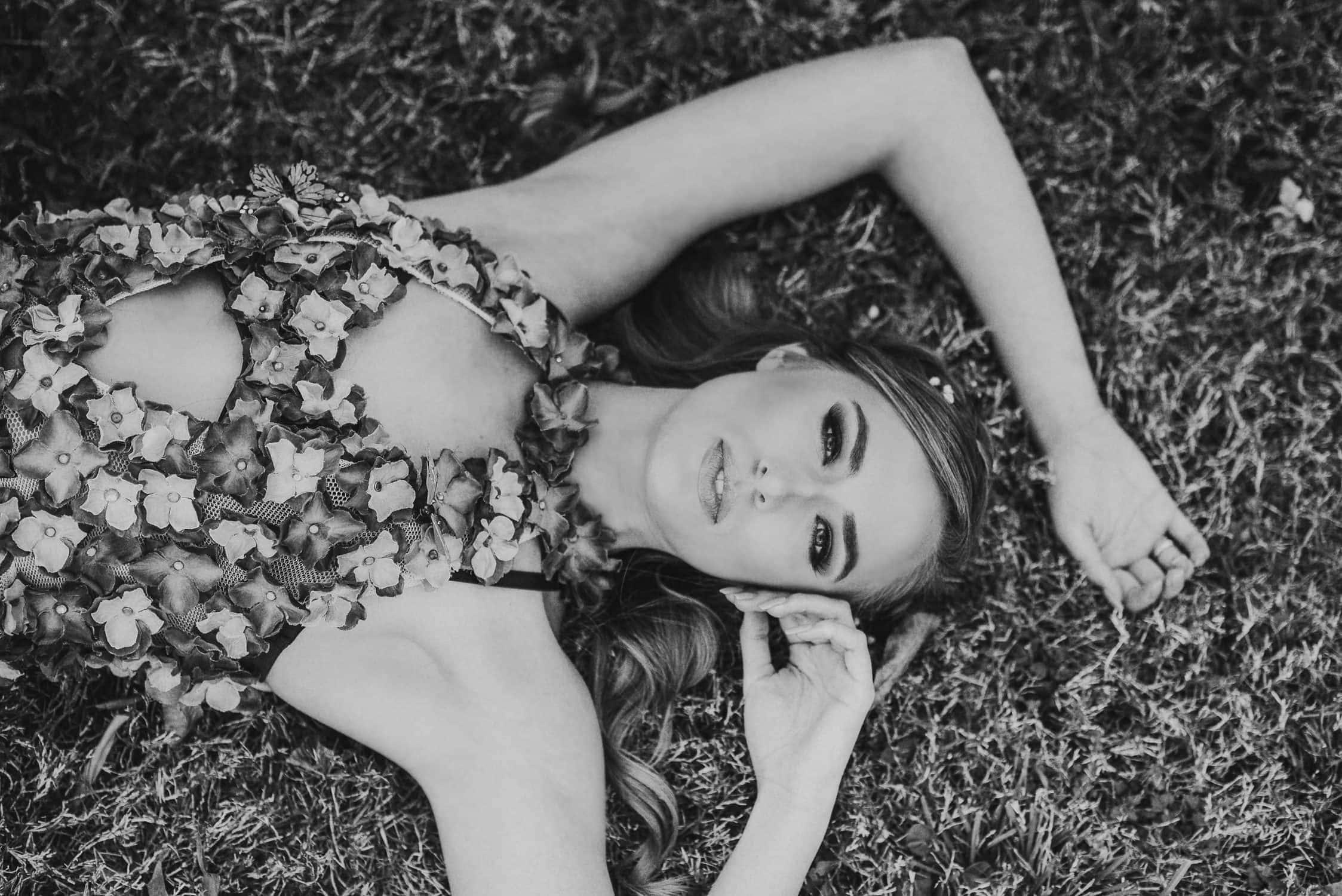 houston portrait photographer, black and white image