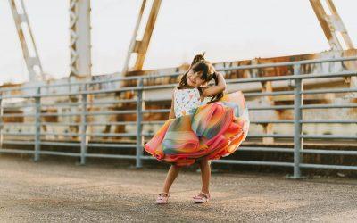 Rainbow Princess Mini Sessions – Skatepark